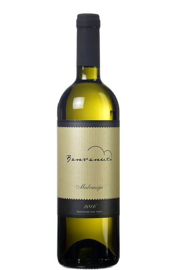 Benvenuti Malvazija Istarska White Wine (2017), Istarska, Croatia