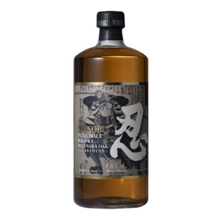 Shinobu Distillery, Pure Malt Whisky, Mizunara Oak