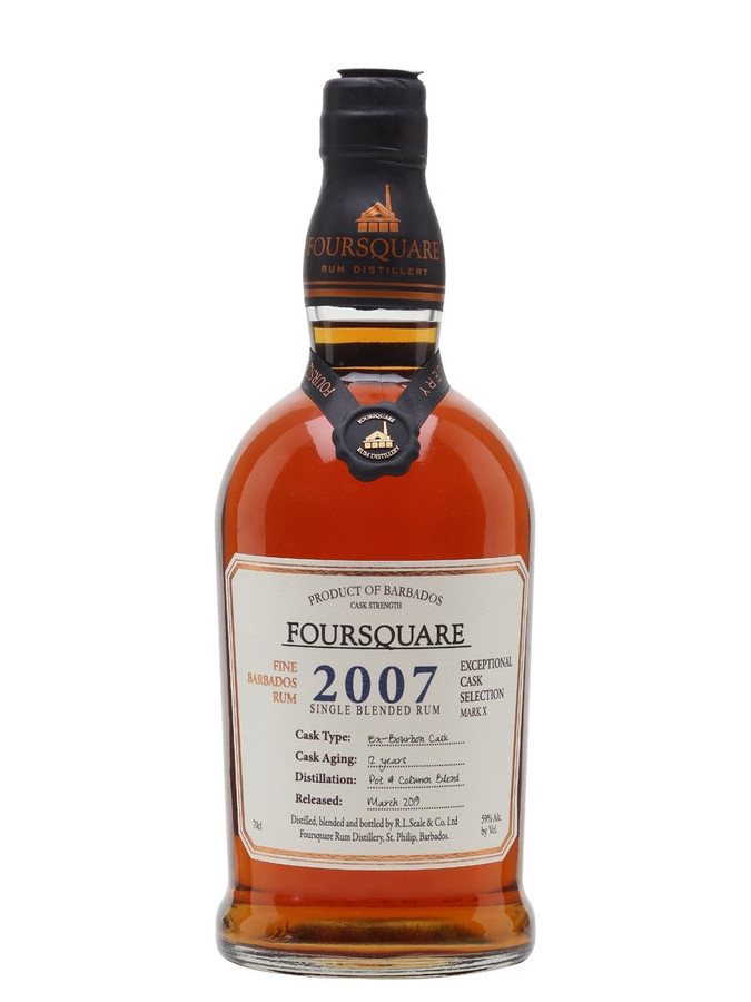 Foursquare Rum Distillery Exceptional Cask Select Vintage Single Blended Barbados (2007)