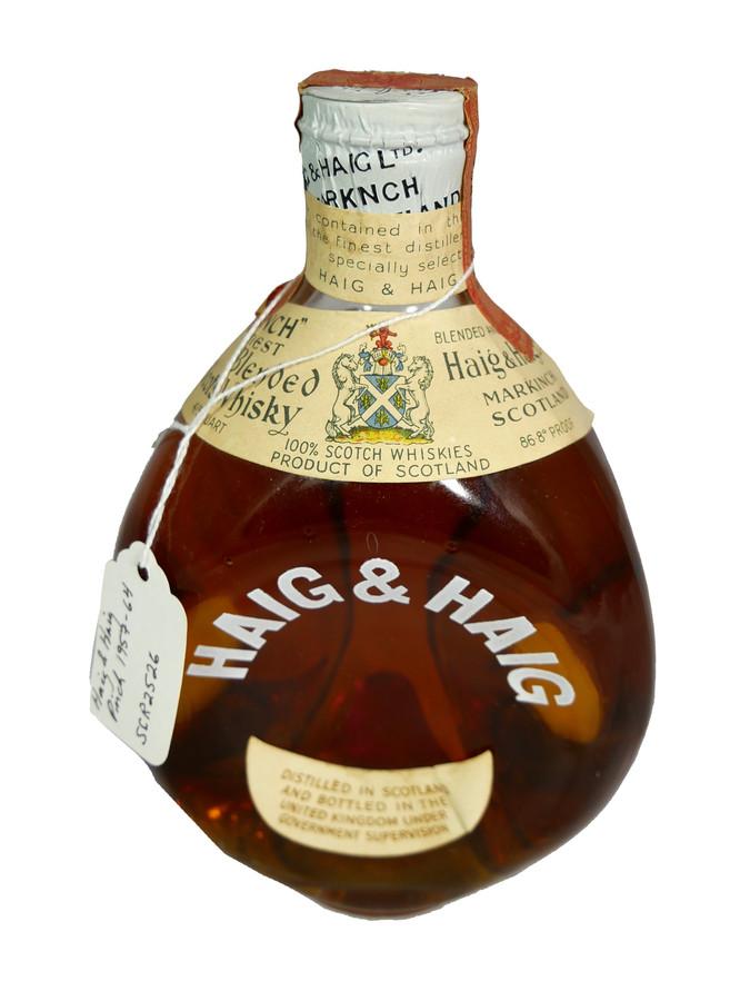 Haig & Haig Pinch Finest Blended Scots Whisky (1957-1964)