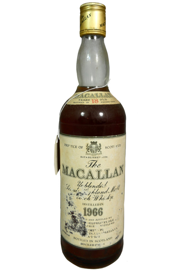 The Macallan 1966 18 Years Old Highland Single Malt Scotch Whisky