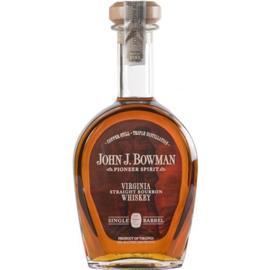 Bowman Brothers Pioneer Spirit Virginia Straight Bourbon Whiskey Single Barrel