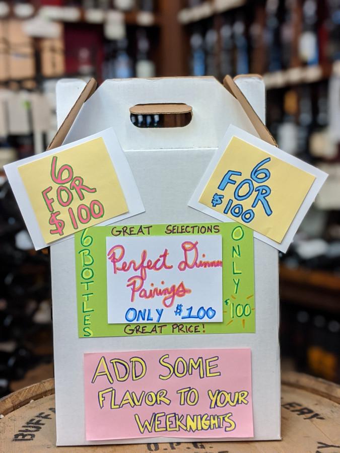 Perfect Dinner Pairings 6 Bottle Wine Kit