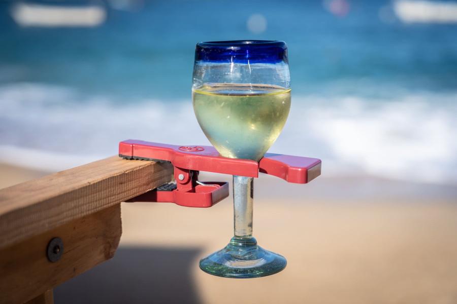 """Winegrasp"" Wine Glass Holder (2)"