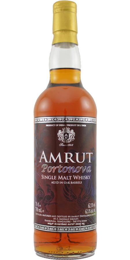 Amrut Portonova Single Malt Whisky, 62.1%