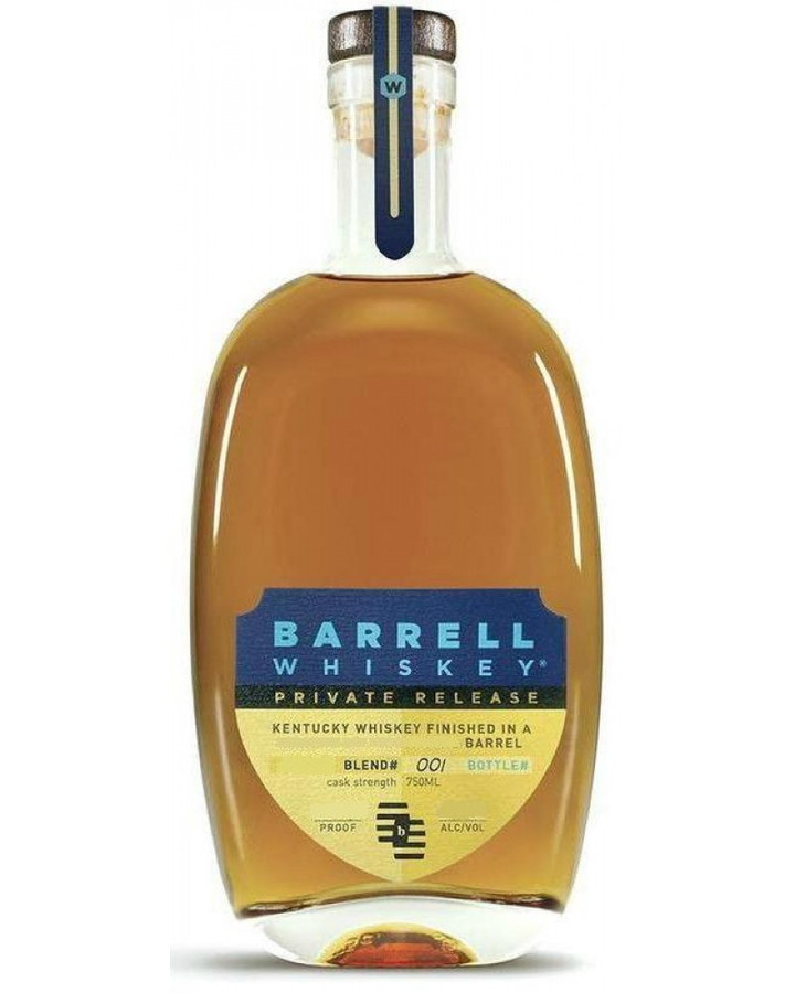 Barrell Craft Spirits Private Release - Kentucky Whiskey Finished in Dunn Cabernet Barrels, Cask Strength 112.36 Proof