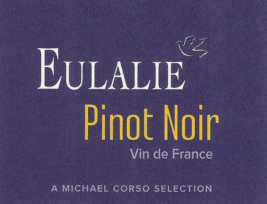 Eulalie Pinot Noir, Vin de France