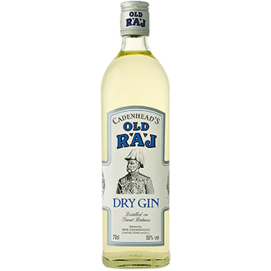 Cadenhead's Old Raj Dry Gin Blue Label