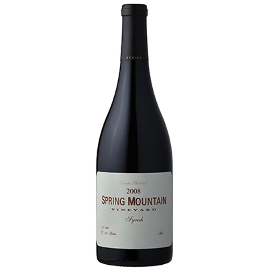 Spring Mountain Vineyard Syrah