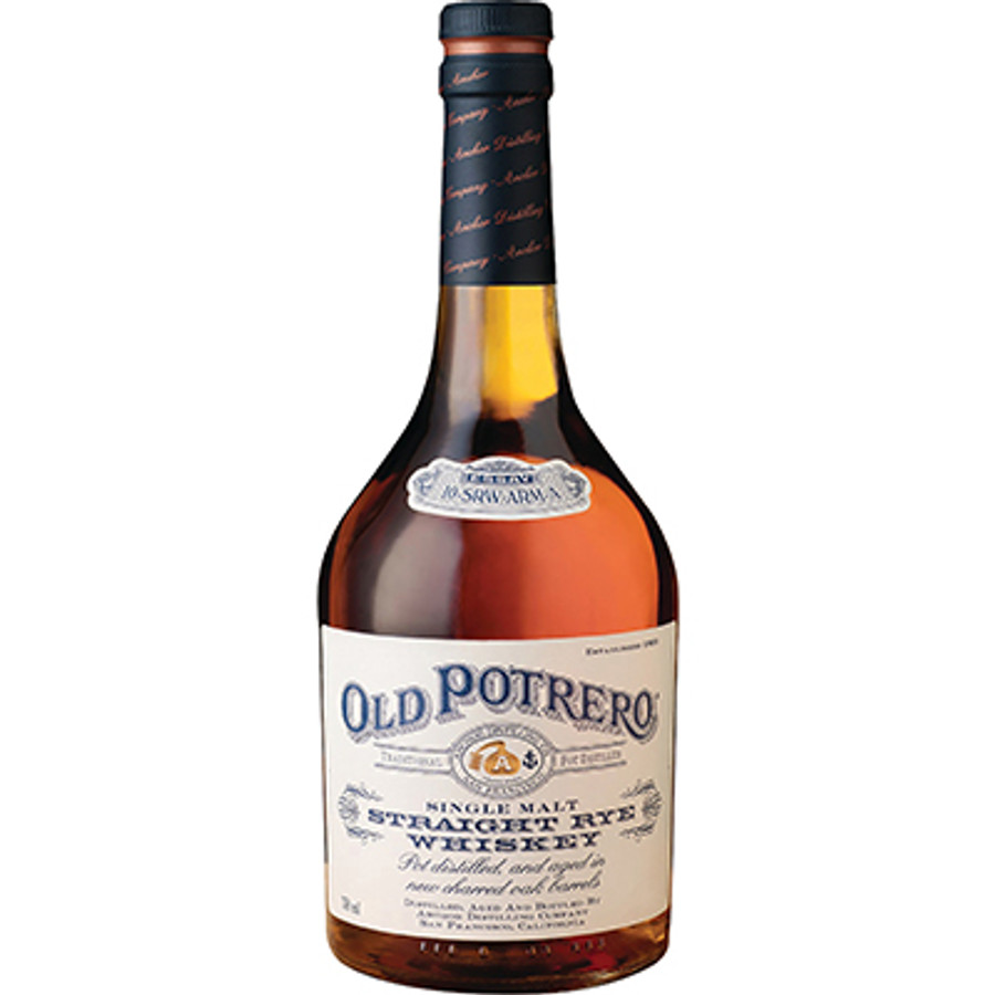 Old Potrero Single Malt Straight Rye Whiskey