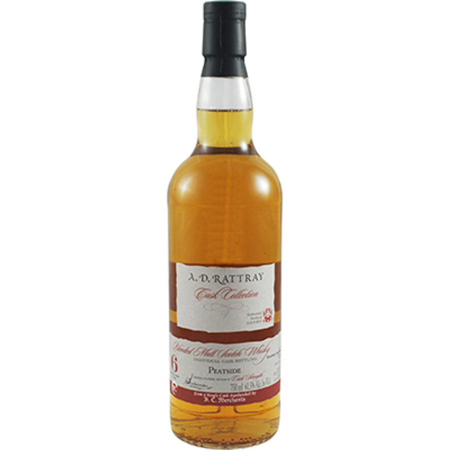 A. D. Rattray Individual Cask Bottling Peatside Blended Malt Scotch Whisky