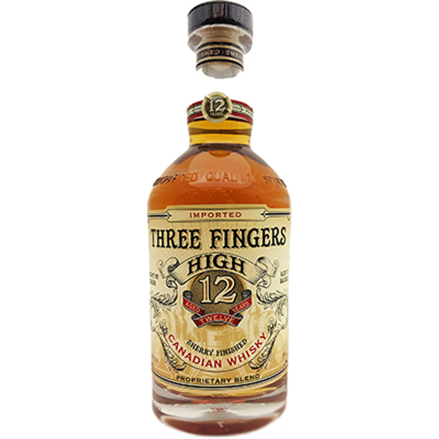 Three Fingers HighSherry Finished Whisky12 Years Old