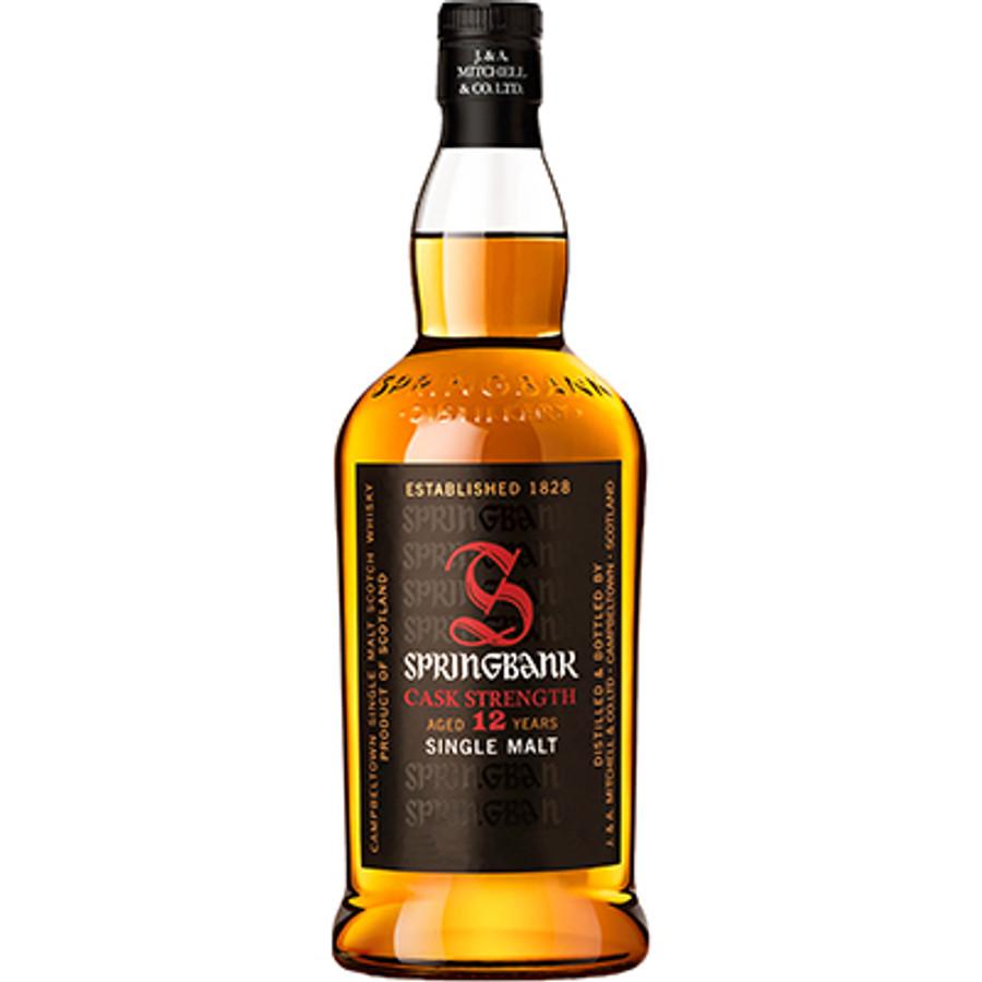 Springbank Campbeltown Cask Strength Single Malt Whisky 12 Years Old