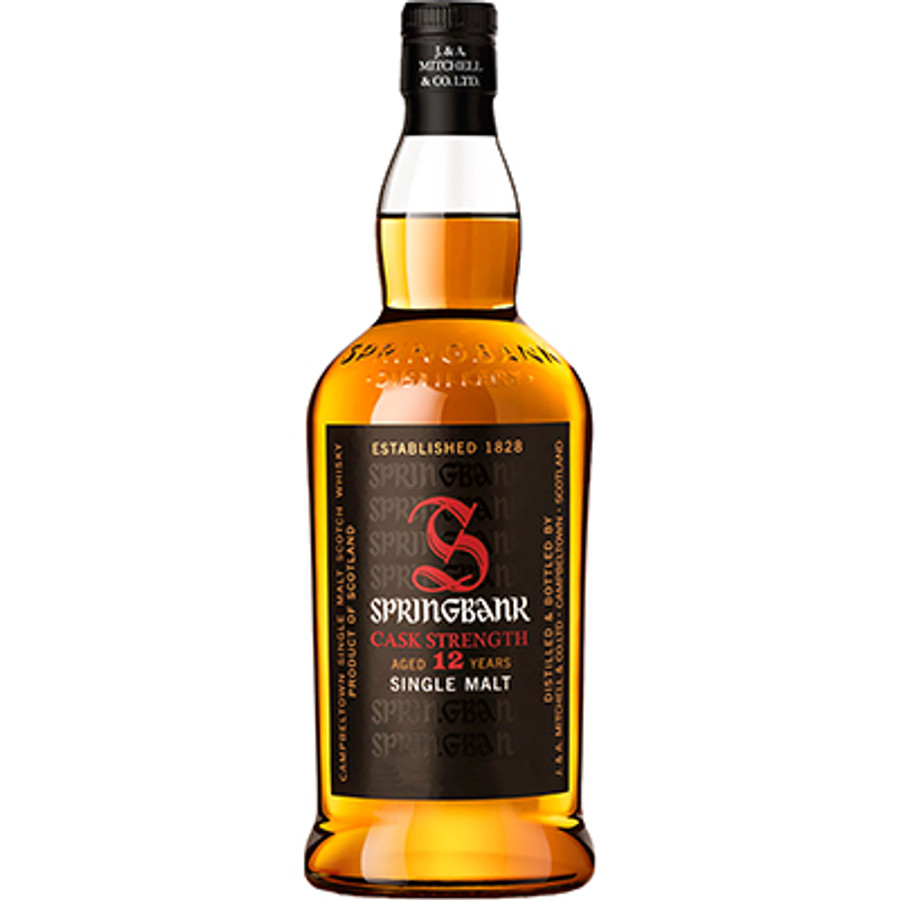 Springbank Campbeltown Cask Strength Single Malt Whisky 12 Years Old