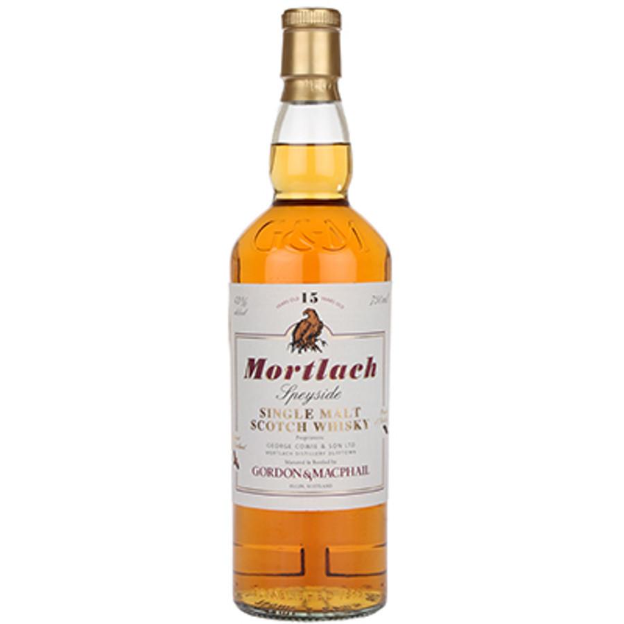Mortlach Speyside Single Malt Whisky 15 Years Old Gordon & MacPhail Bottling