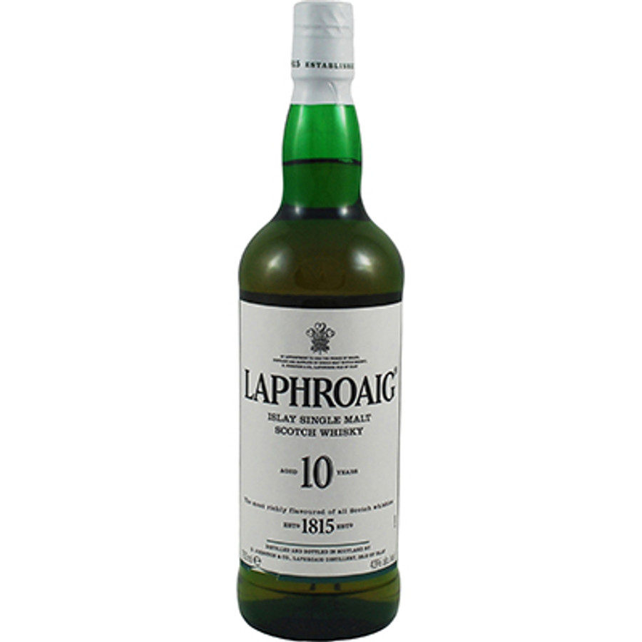 Laphroaig 10 Years Islay Single Malt Scotch