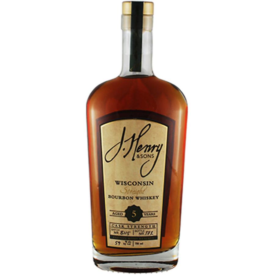 J. Henry & Sons 5 Year Bourbon Cask Strength 118 Proof
