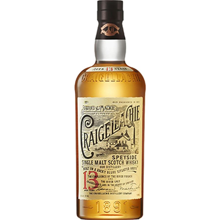 Craigellachie 13 Years Speyside Single Malt Scotch Whisky