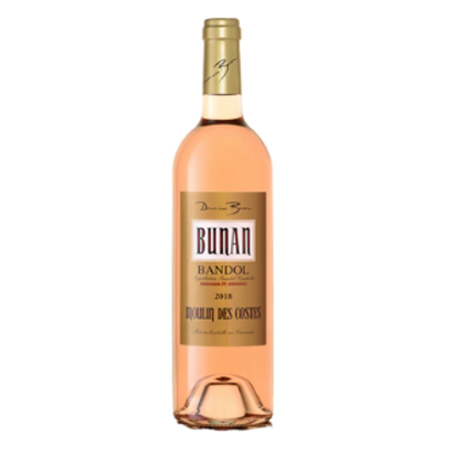 Domaine Bunan Moulin des Costes Bandol Rose (2019)