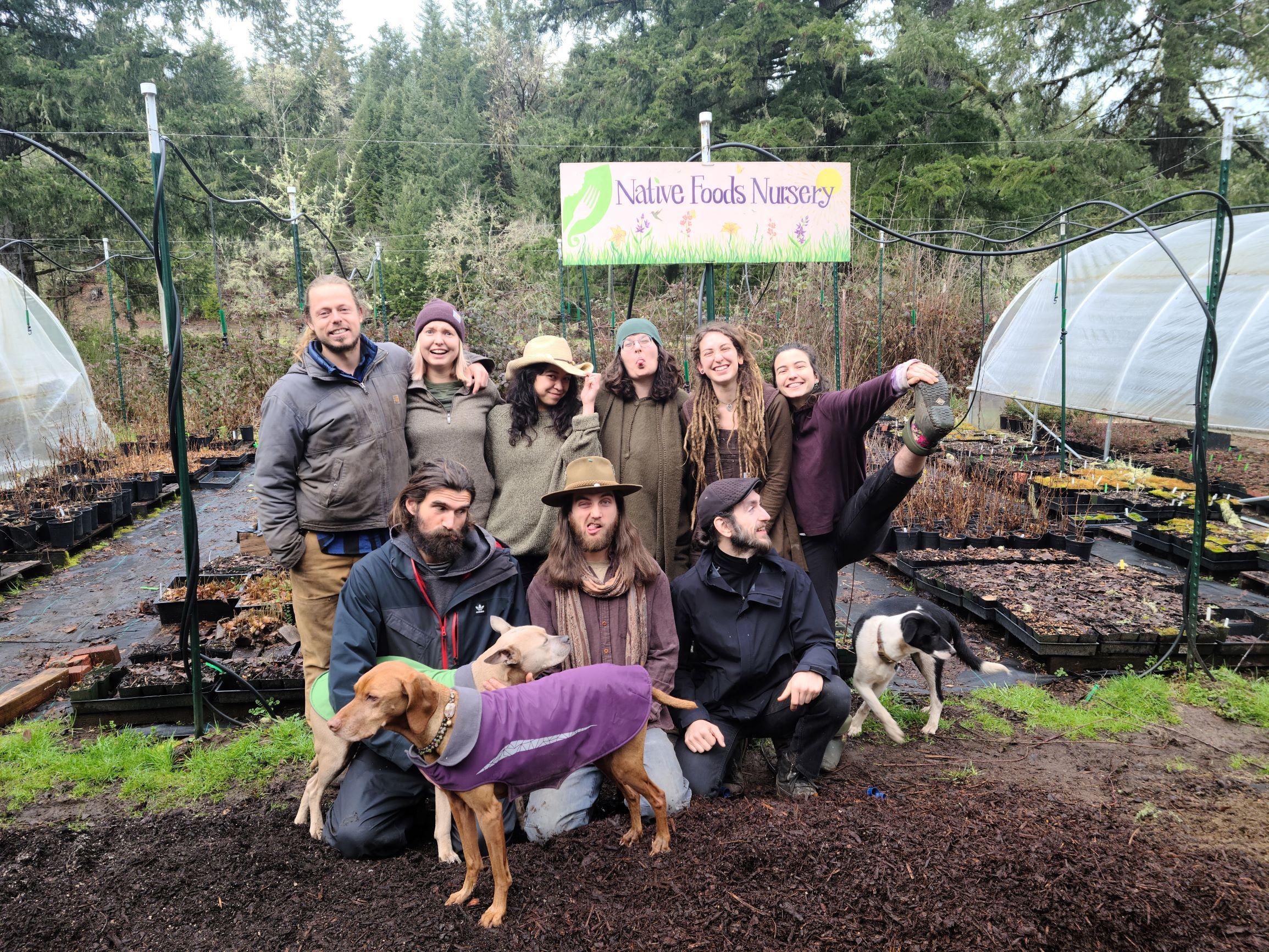 Meet the Native Foods Nursery Team!
