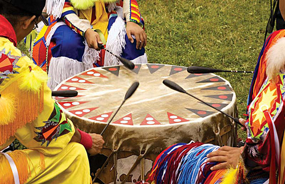 powwow drum native american beaters
