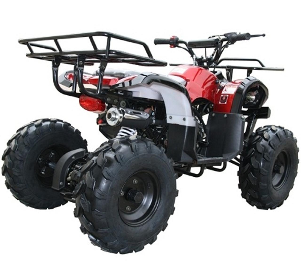 Coolster Plastic Body 110 125 cc ATV 3050D 3125R 3125XR8-U 3125XR8-US Red Spider