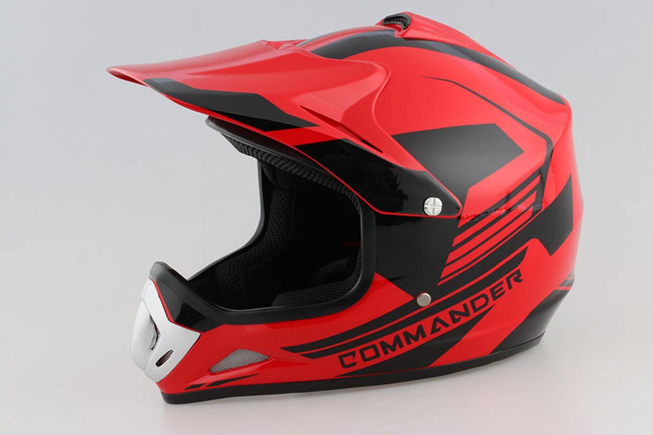 Motorcross Bike Helmet Youth Kid DOT ATV UTV Sport Skate Scooter Adult Extreme
