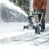 """EGO SNT2103 21"""" Electric Snowblower Kit w/ (2) 7.5Ah Batteries & 550W Rapid Charger Image 7"""