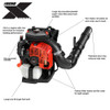 ECHO PB-8010H 79.9cc 211 mph 1071 CFM Backpack Blower w/ Hip-Mounted Throttle Image 2