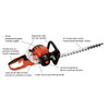 """ECHO HC-155 21.2cc Hedge Trimmer w/ 24"""" Double-Sided Blades & Easy Start Image 2"""