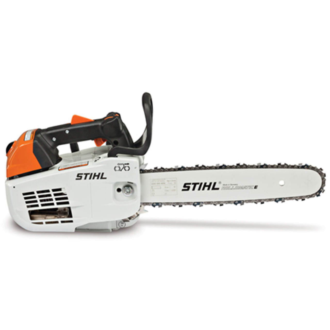 "STIHL MS 201 T C-M 14 35.2cc In-Tree Professional Arborist Top Handle Chainsaw w/ 14"" Bar Image"