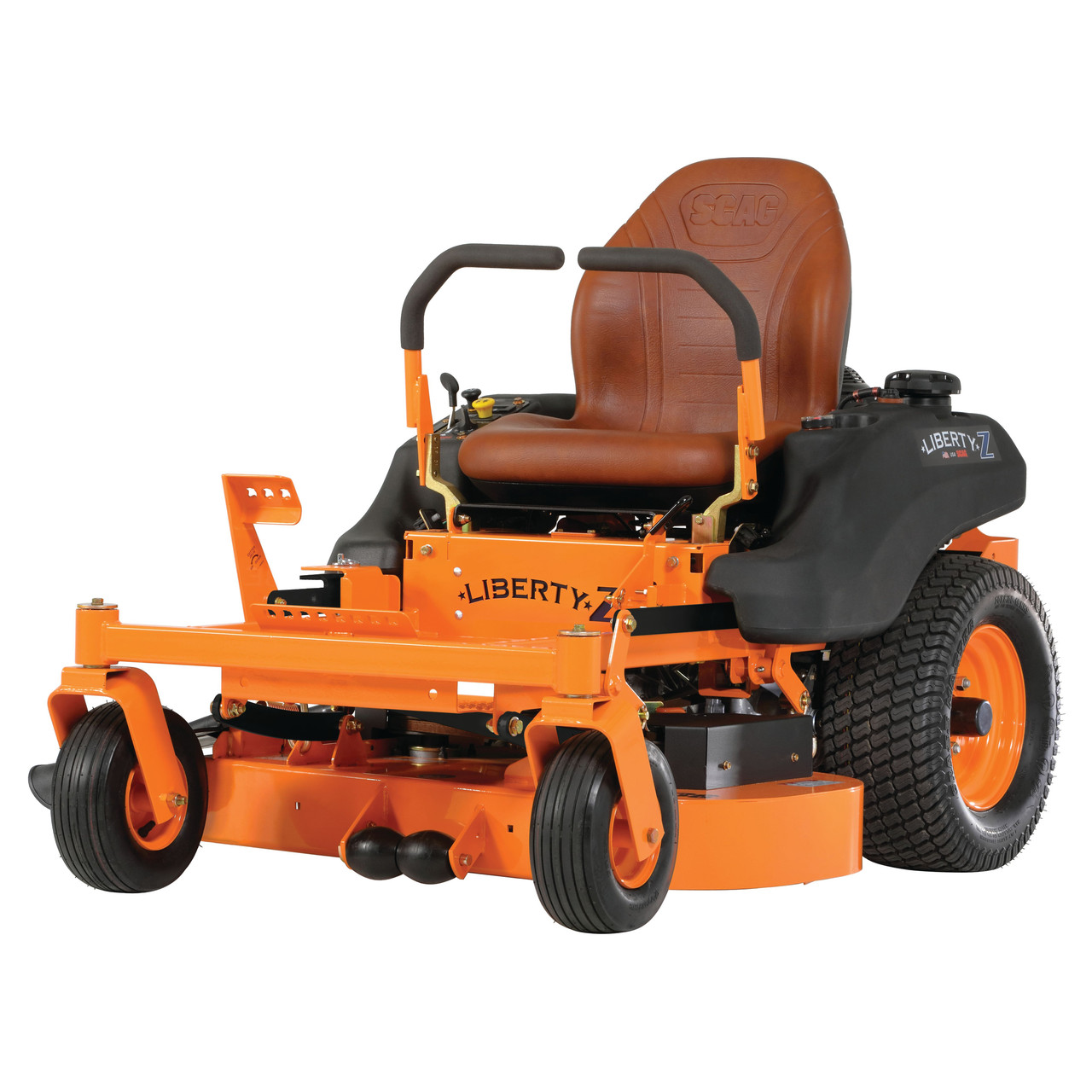 "Scag SZL48-21FR 48"" Liberty Z Zero-Turn Riding Lawn Mower w/ 21hp Kawasaki FR Engine Image"