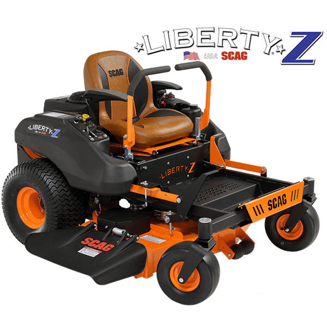 "Scag SZL52-23FR 52"" Liberty Z Zero-Turn Riding Lawn Mower w/ 23hp Kawasaki FR Engine Image"