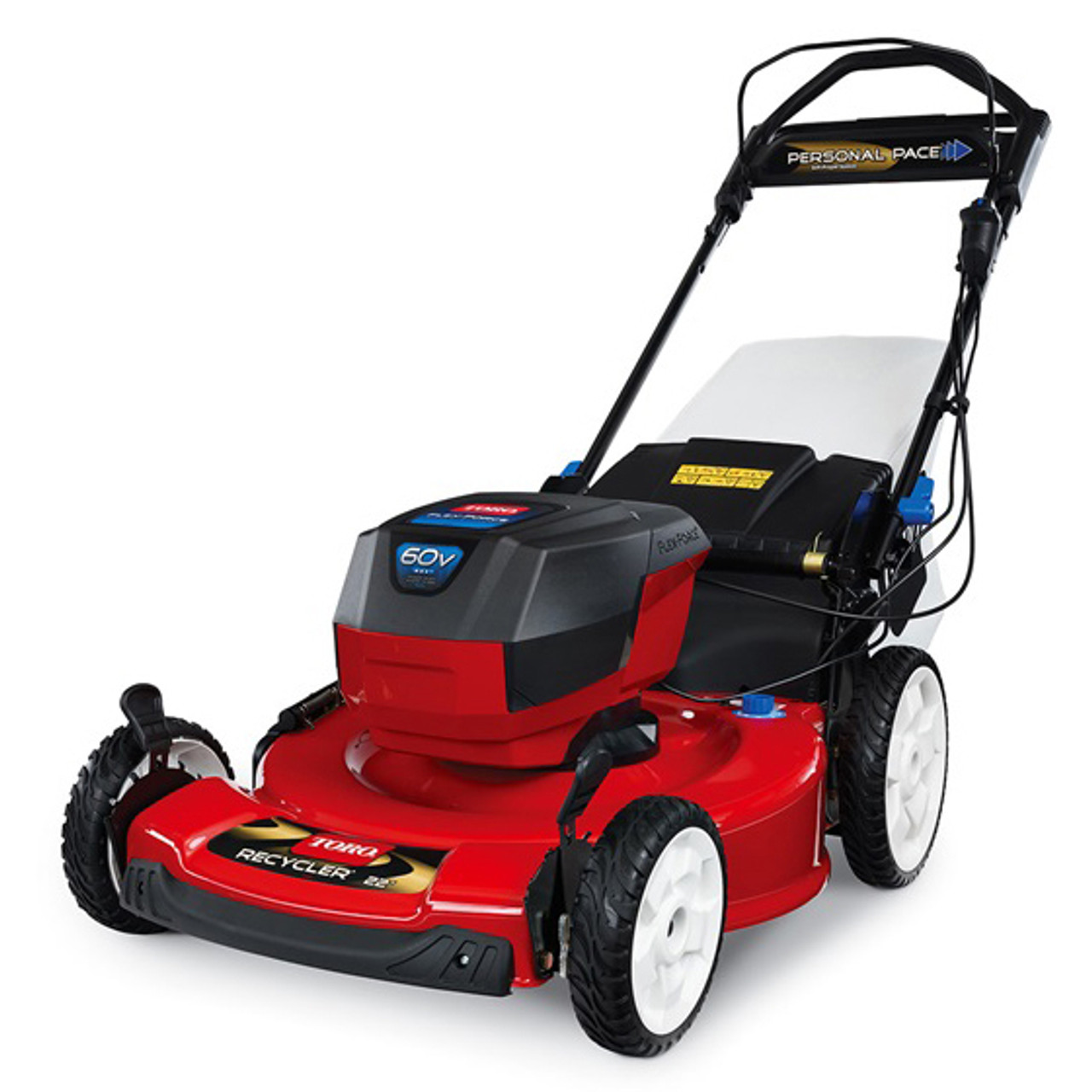 "Toro 20363 Recycler® 22"" Self-Propelled 60V Battery-Powered Walk Behind Lawn Mower w/ 6.0Ah Battery Image 2"