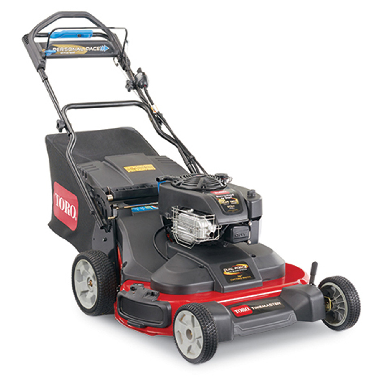 "Toro 21200 TimeMaster® 30"" Electric Start Self-Propelled Walk Behind Lawn Mower w/ 223cc OHV Briggs & Stratton Engine Image"