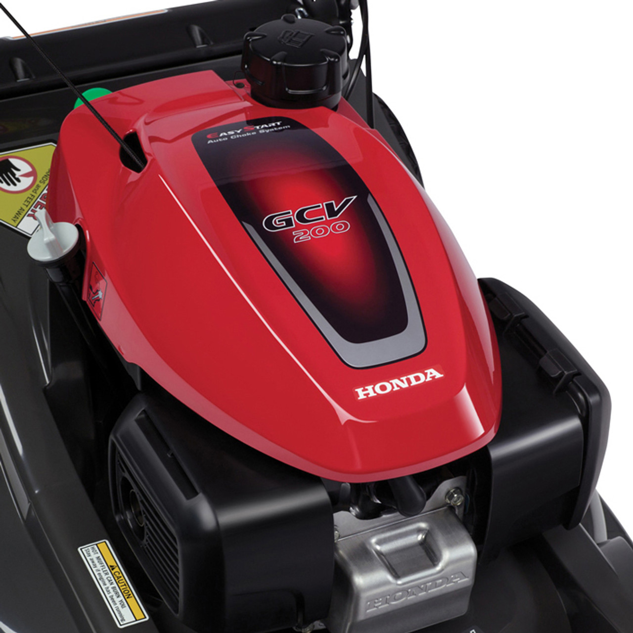"Honda HRX217HYA 21"" Self-Propelled Walk Behind Lawn Mower w/ Honda GCV200 Engine Image 4"