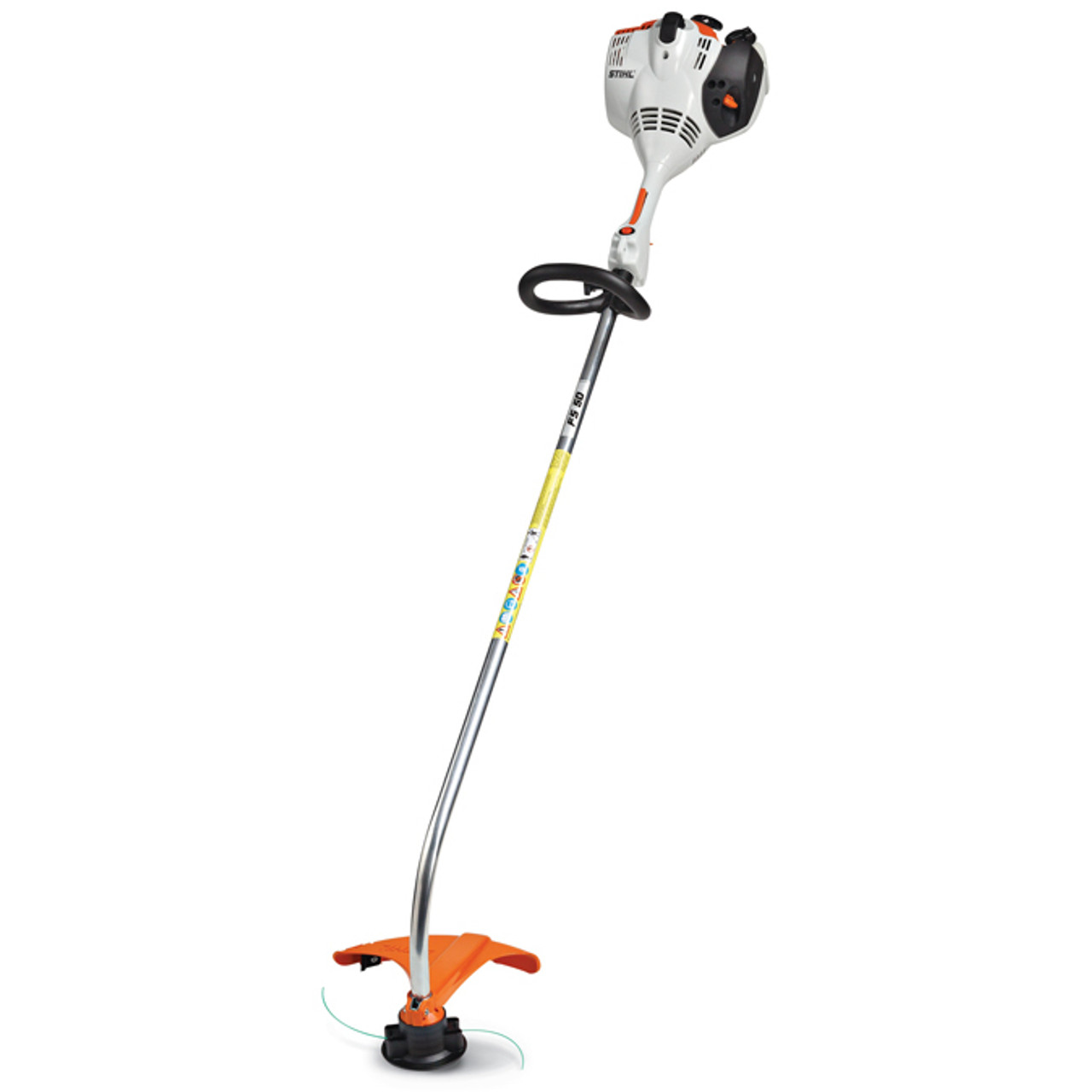 STIHL FS 50 C-E 27.2cc Curved Short Shaft String Trimmer w/ Easy2Start Image