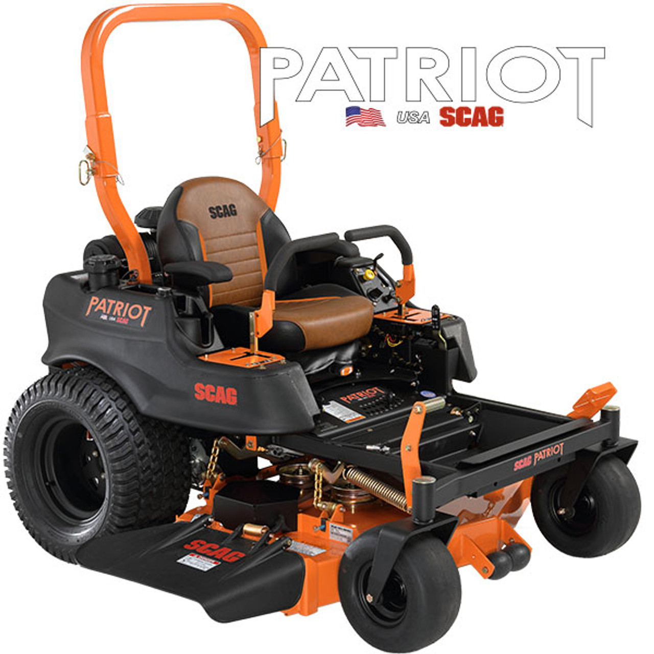 "Scag SPZ52-22FX 52"" Cutter Deck Zero-Turn Riding Lawn Mower w/ 22 hp Kawasaki FX691 Engine Image"