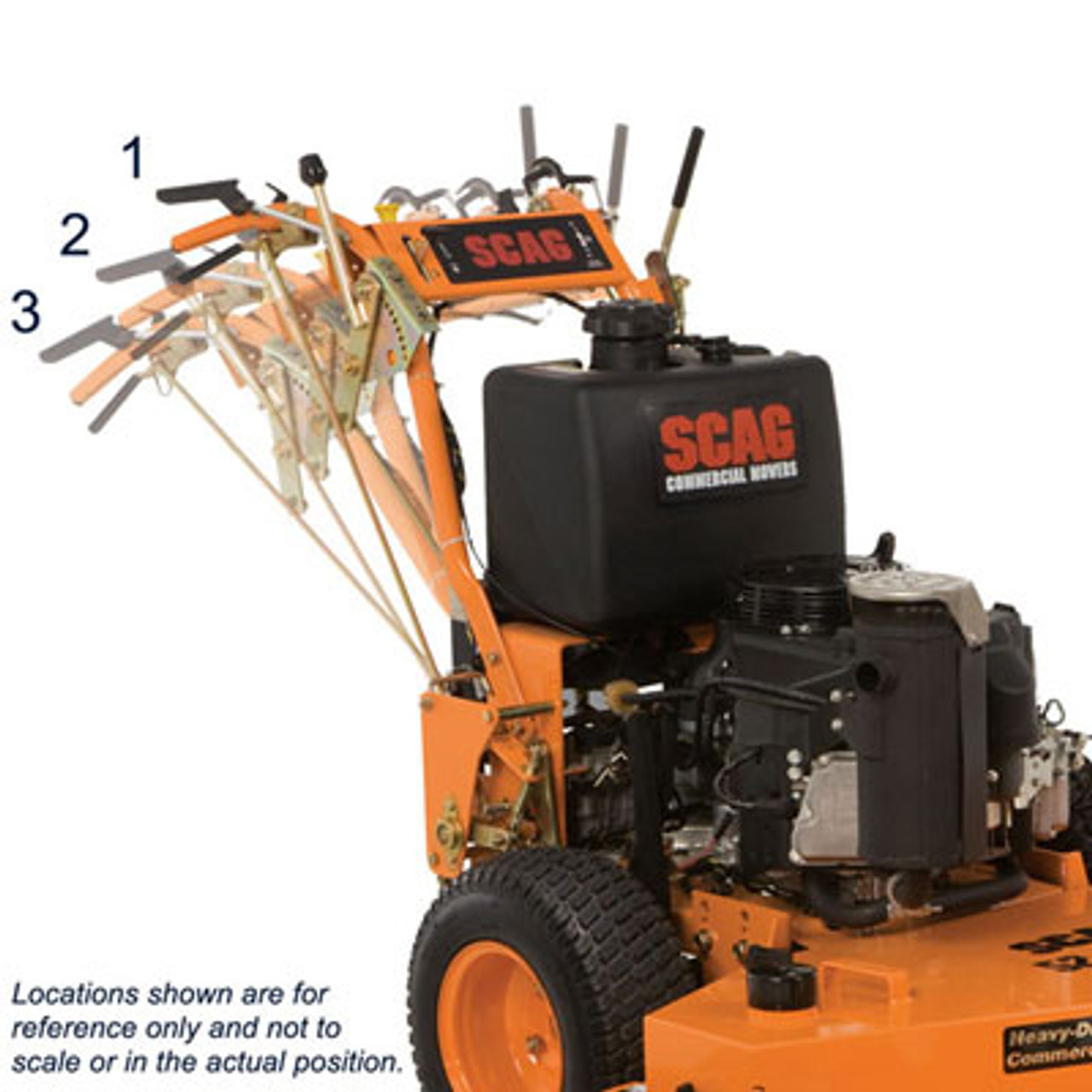 Scag Swz36a 14fs 36 Advantage Fixed Deck Hydro Drive Walk Behind Zero Turn Lawn Mower W 14 Hp Kawasaki 481fs Engine Sohars