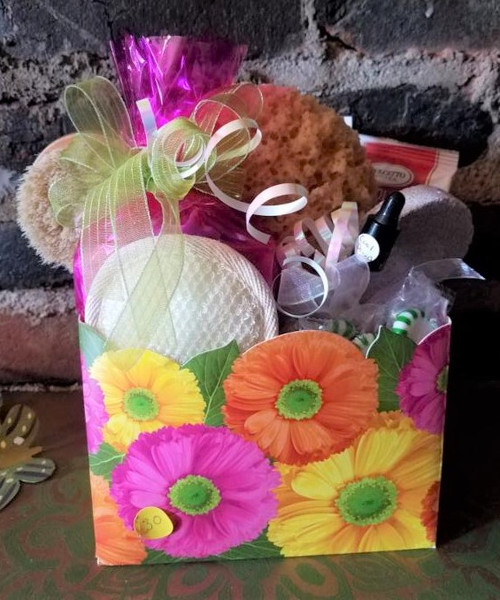 Spa and Candy Basket
