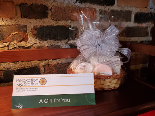 $25 Snack Basket!  Click here to add a Massage Gift Certificate to this Basket!