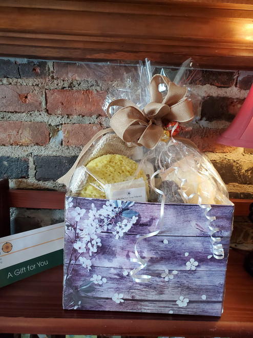 Spa and Chocolate Lovers Basket
