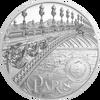 2021 $20 Silver 3oz. Proof Palau Tiffany Art 2021 - Metropolis Paris Ultra High Relief