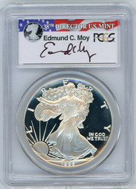 1986-S Proof ASE PR70 PCGS Moy red, white, blue label