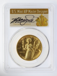 2015-W $100 Liberty High Relief PCGS MS70 T. Cleveland