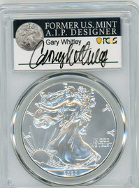 2020-(P) Silver Eagle PCGS MS70 Emergency Issue Struck at Philadelphia G Whitley