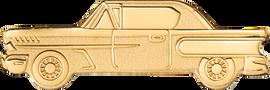 Golden Classic Car $1 Golden Palau .9999