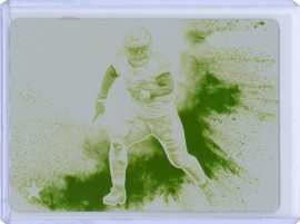 2020 Panini Ezekiel Elliot Dallas Cowboys Color Blast Printing Plate 1/1