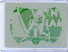 2020 Panini Legacy Retired Dare to Tear Barry Sanders Printing Plate 1/1