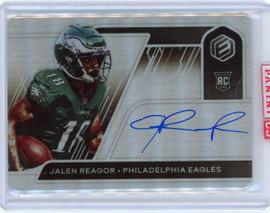 2020 Panini Elements Jalen Reagor Philadelphia Eagles Autograph Rookie Card 82 of 149